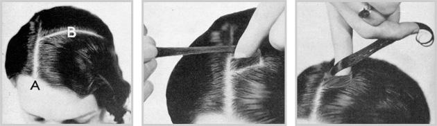 The Half Twist Pin Curl