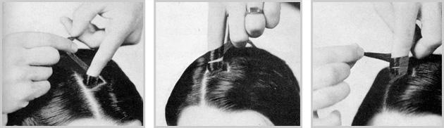 The Half Pin Curl