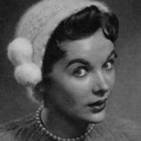 Angora Crocheted Cloche