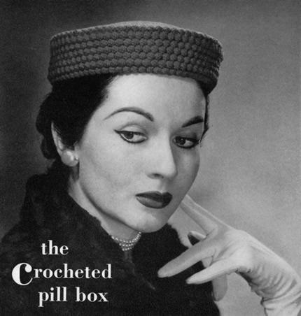 The Crocheted Pill Box